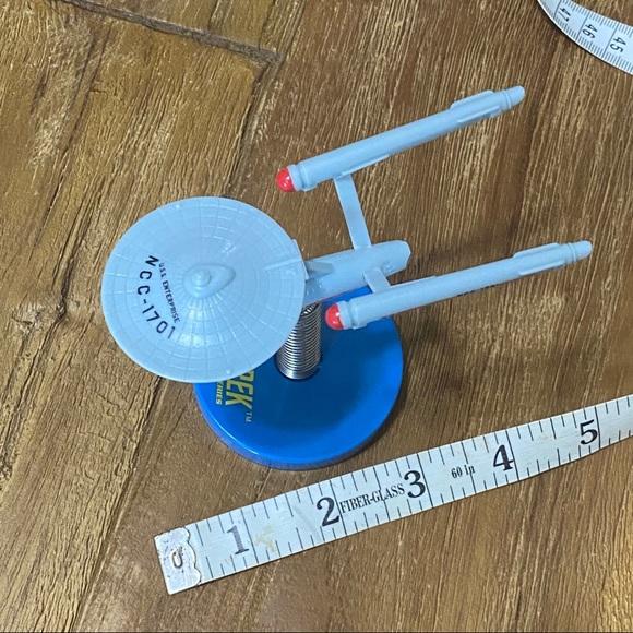 ACC The Bobbleship Enterprise Star Trek Themed Dashboard Bobbler